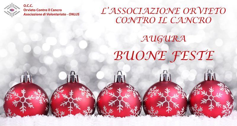 Orvieto Contro il Cancro augura a tutti Buone Feste