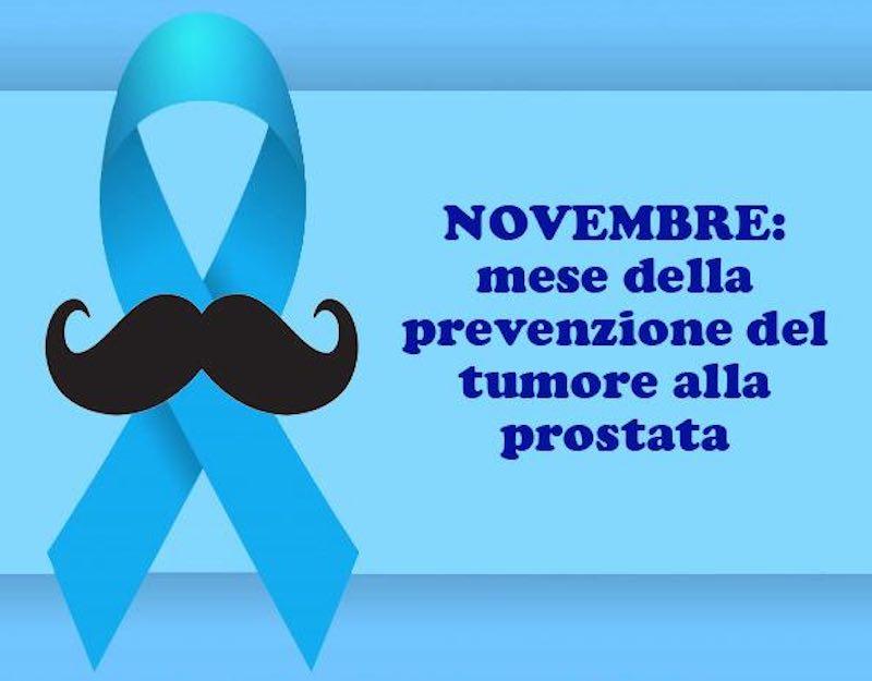 Novembre è il mese della prevenzione del tumore alla prostata